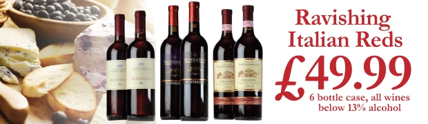 Italian Red Wine Case Offer