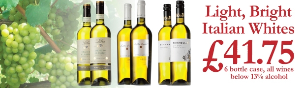 Italian White Wine Case Offer