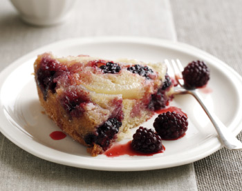 Quick steps to bake your perfect blackberry and pear pudding: