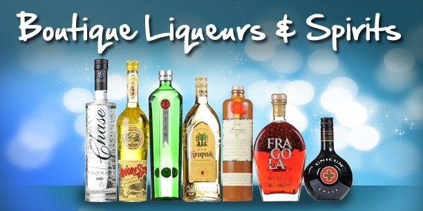 Large Selection of Spirits & Liqueurs