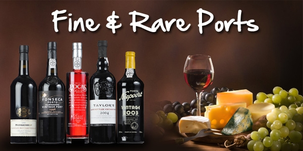 Wide Range of Vintage & Rare Ports