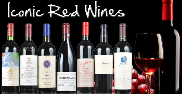 Exclusive World Class Red Wines
