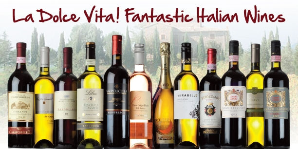 Taste the wonderful wines of Italy!