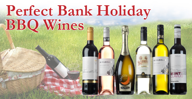 Perfect wines come rain or shine this bank holiday weekend!
