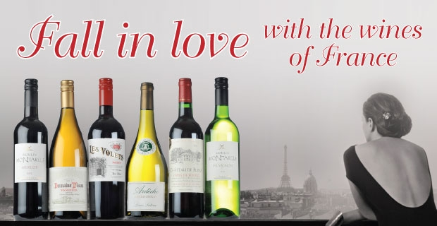 Fall in Love with the wines of France..