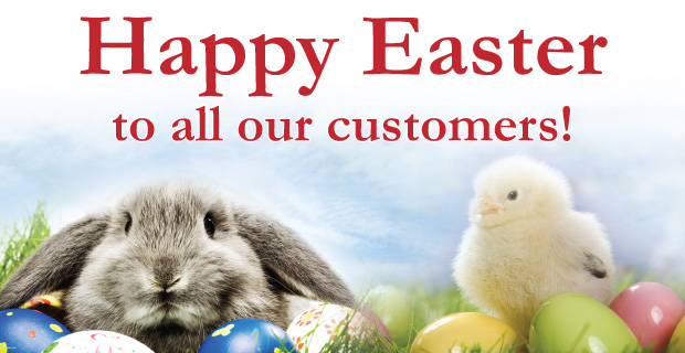 Happy Easter from T. Wright Wine!
