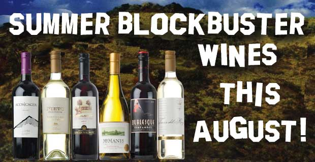 Try Our August Award Winning Wnes!