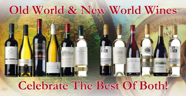 Wines From The Best Of Both Worlds!